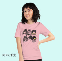 Collage Comfy Tee, Girls in Glasses