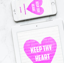 Keep Thy Heart, Digital Devotional