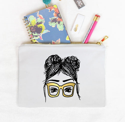 Larissa Clutch Bag, Girls in Glasses