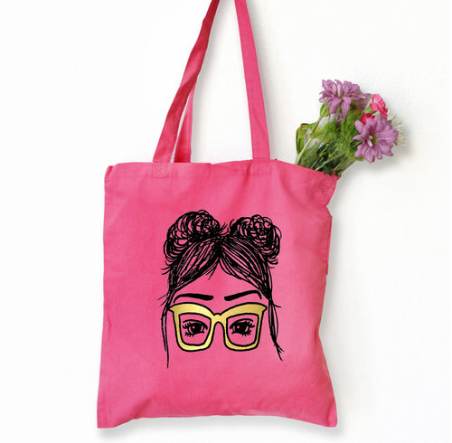 Larissa Tote Bag, Girls in Glasses