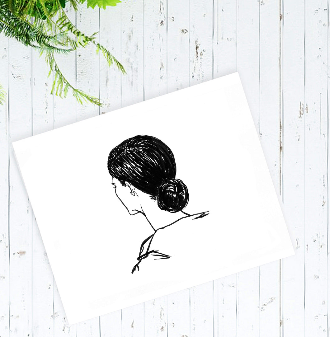 Lola Ink Illustration, Art Print