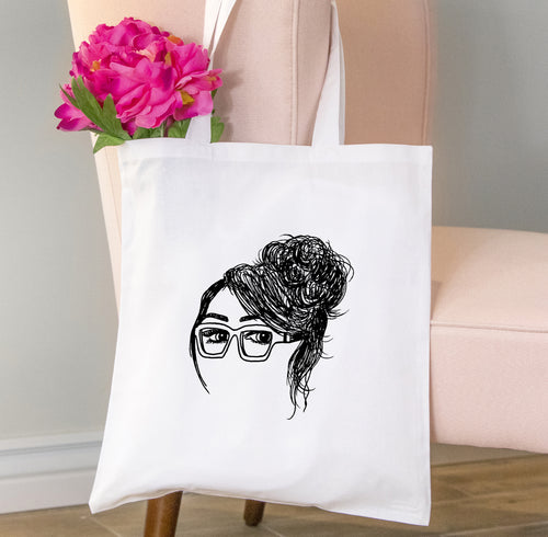 Nicole Tote Bag, Girls in Glasses