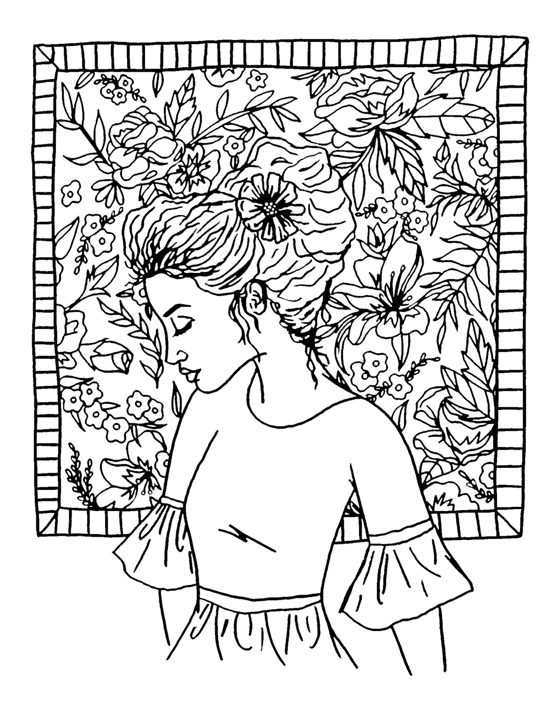 Grace Upon Grace Coloring Page