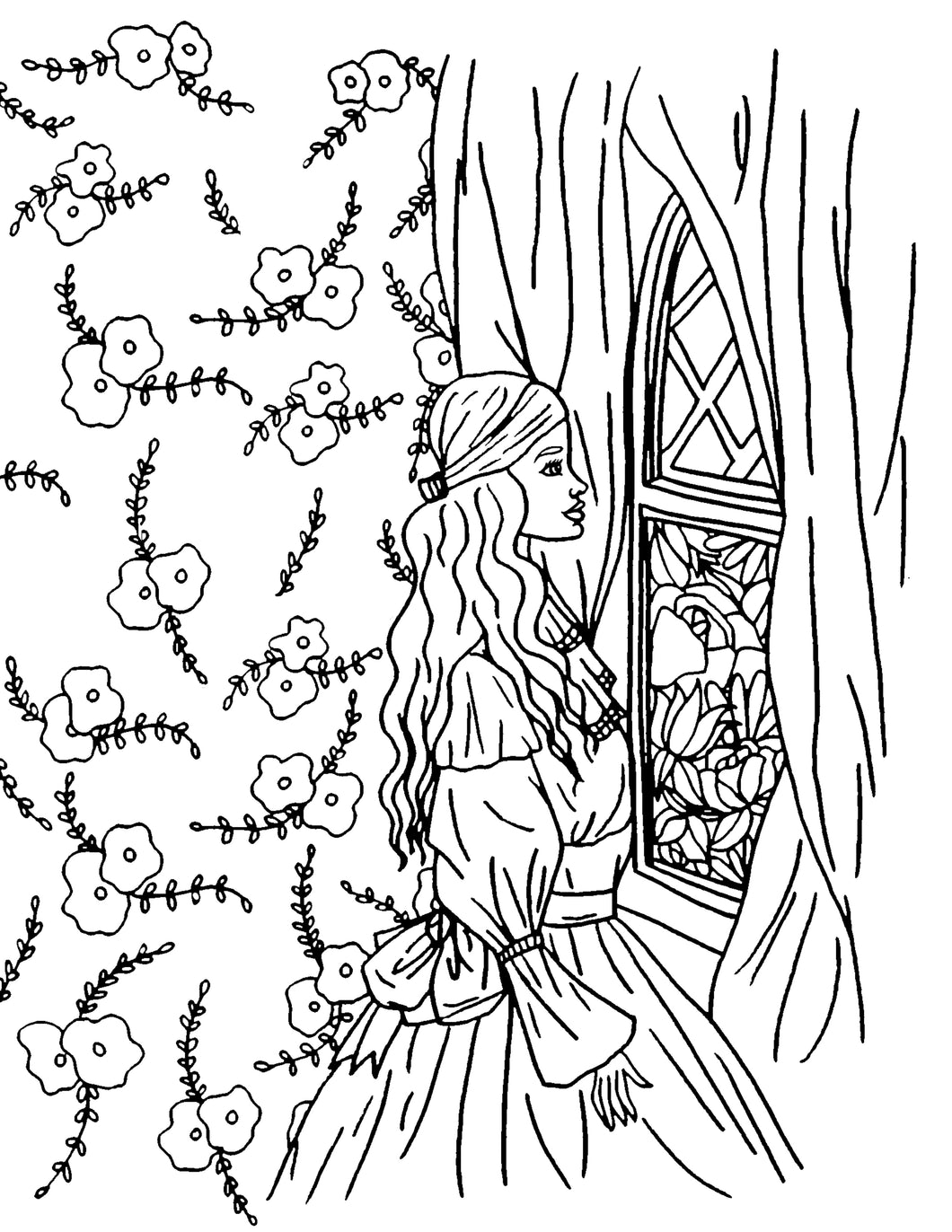 I'm Here Lord Coloring Page