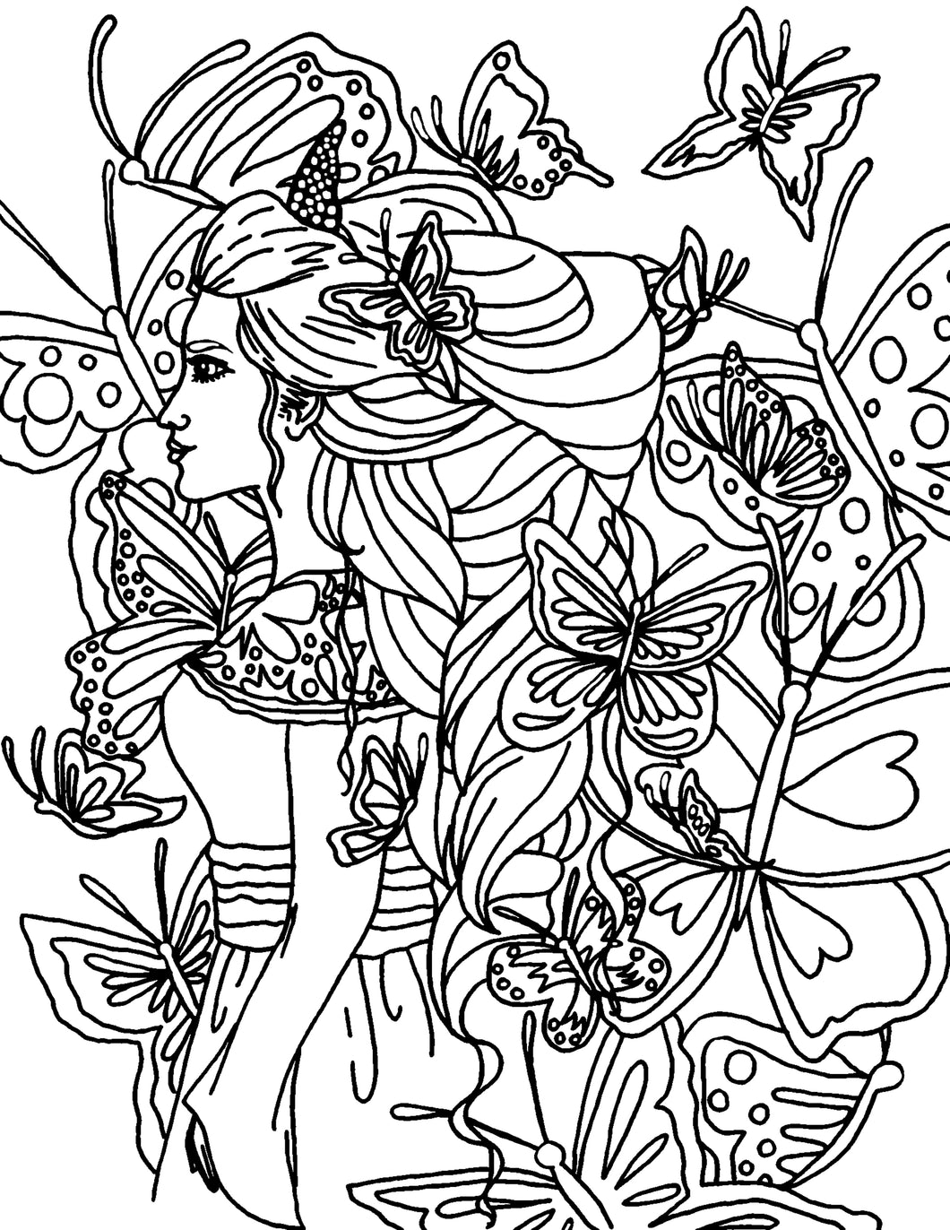 I'll Fly Away Coloring Page