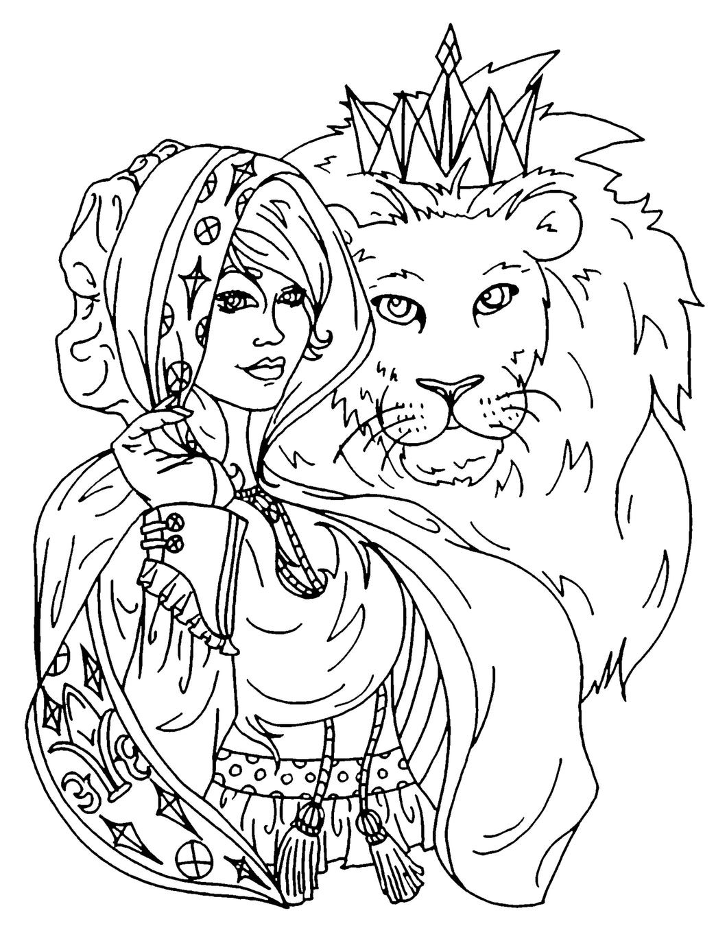 King of Kings Coloring Page