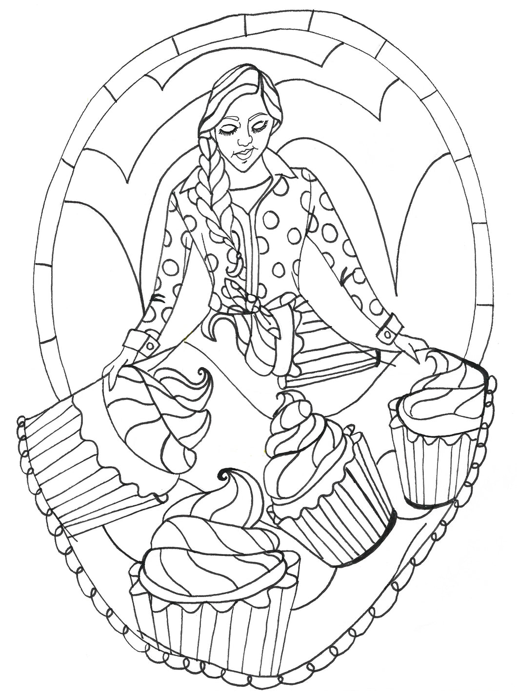 Sweet Spirit Coloring Page