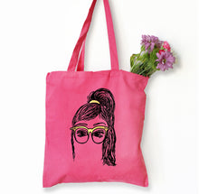 Tia Tote Bag, Girls in Glasses