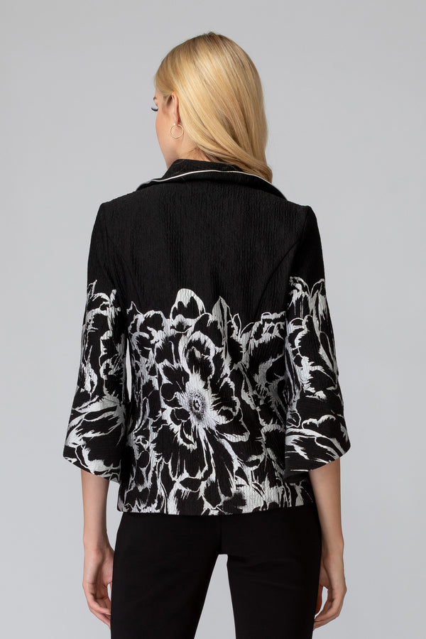 Jacket -  Black/White