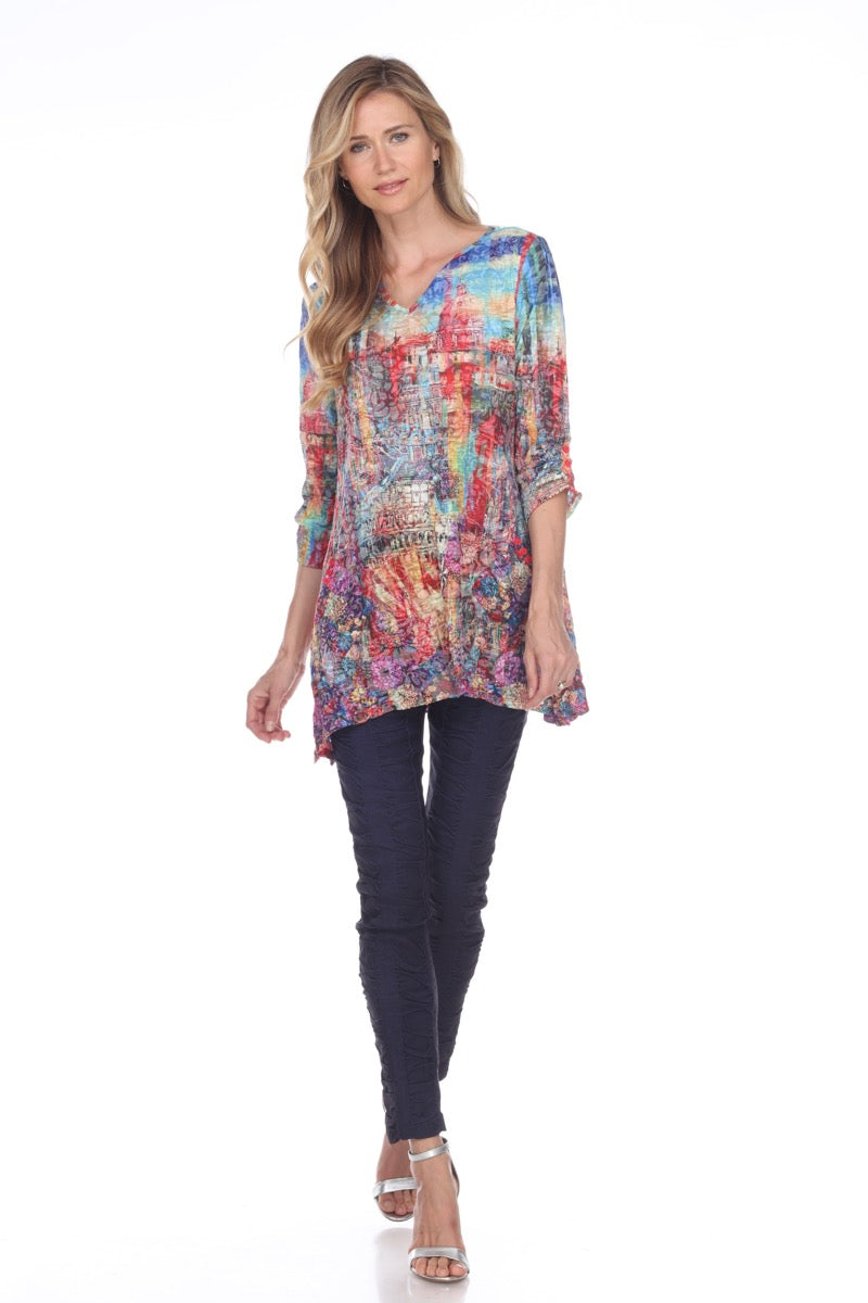 Two-Pocket Tunic - Multi City - CARINE