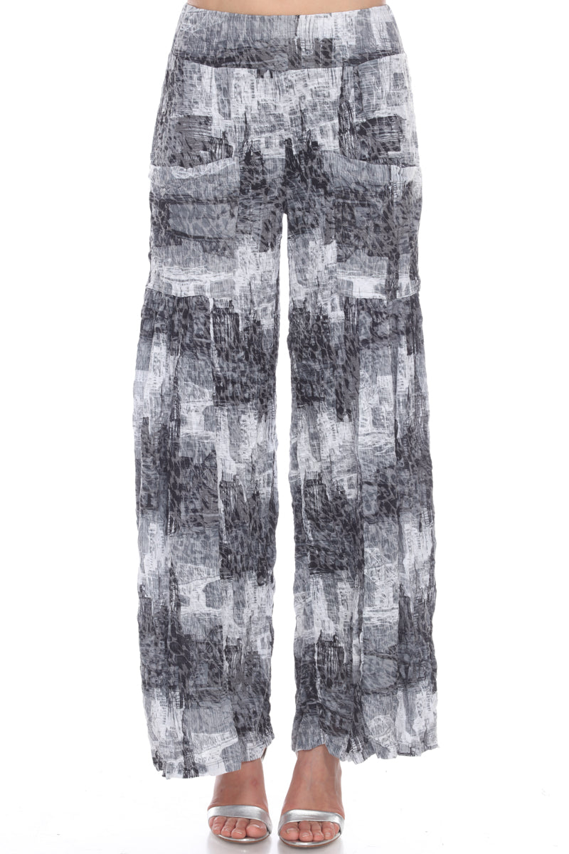 Paris Pant - Gray Static - CARINE