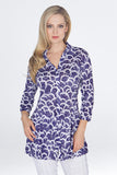 Selena Tunic - Moon Abstract - CARINE