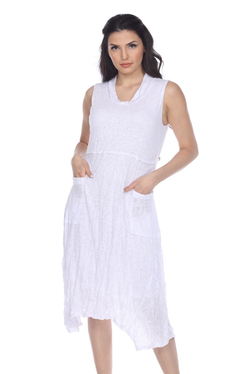 Viviana Dress - White - CARINE