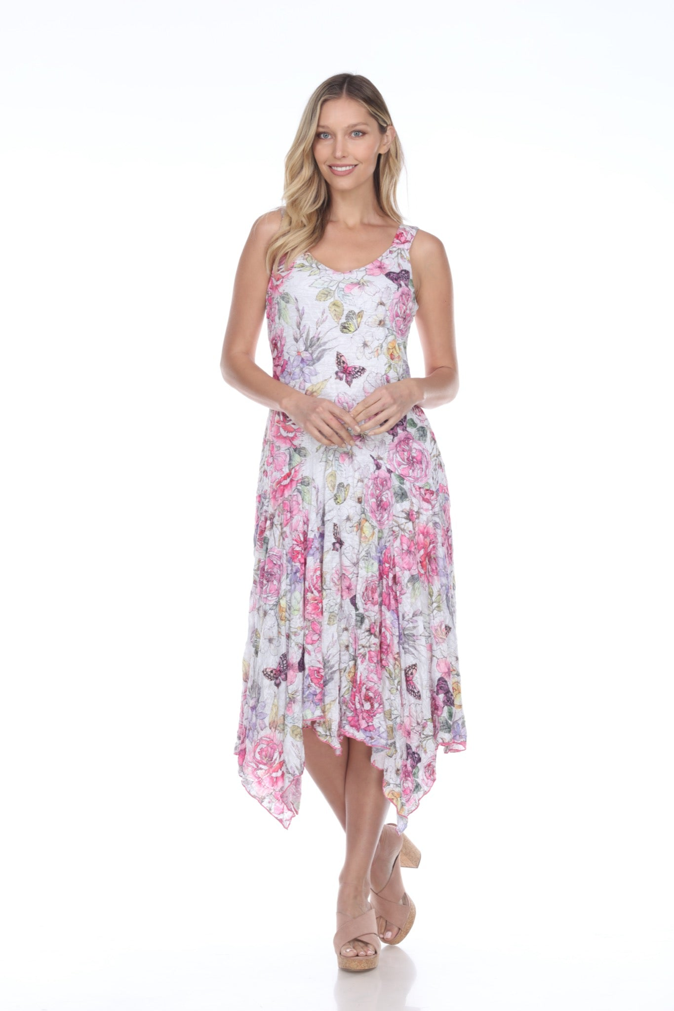Priscilla Dress - Butterfly Paradise - CARINE