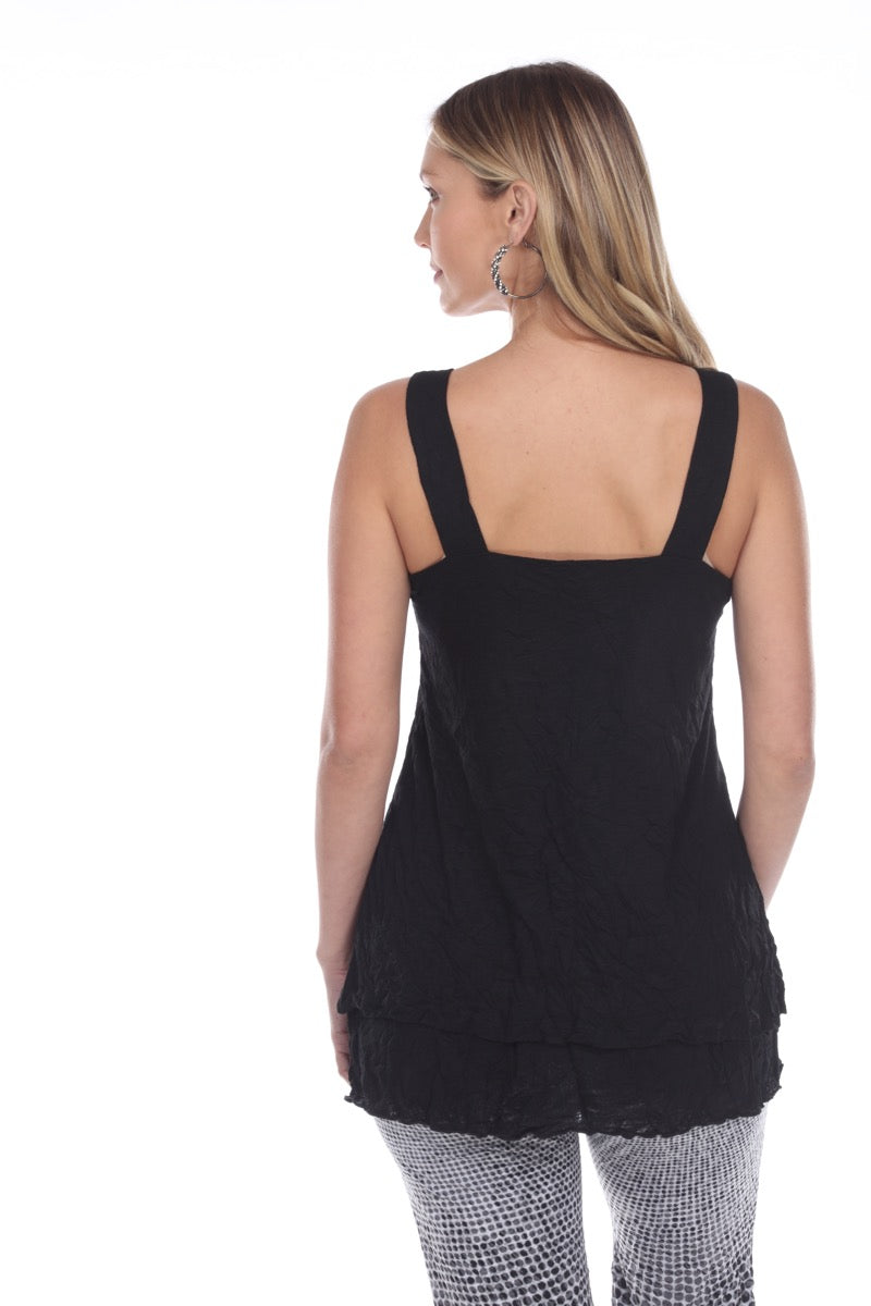 Tilly Tank - Black - CARINE