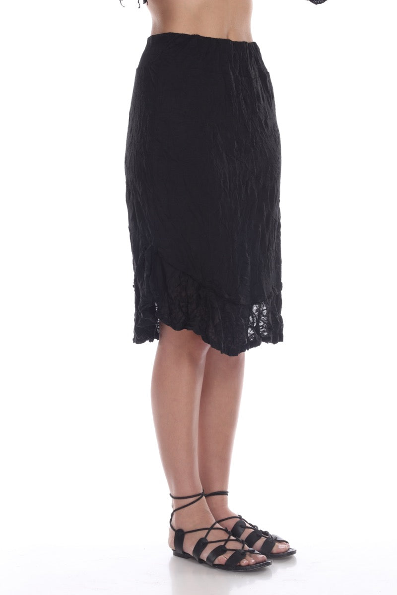 Tanya Skirt - Black - CARINE