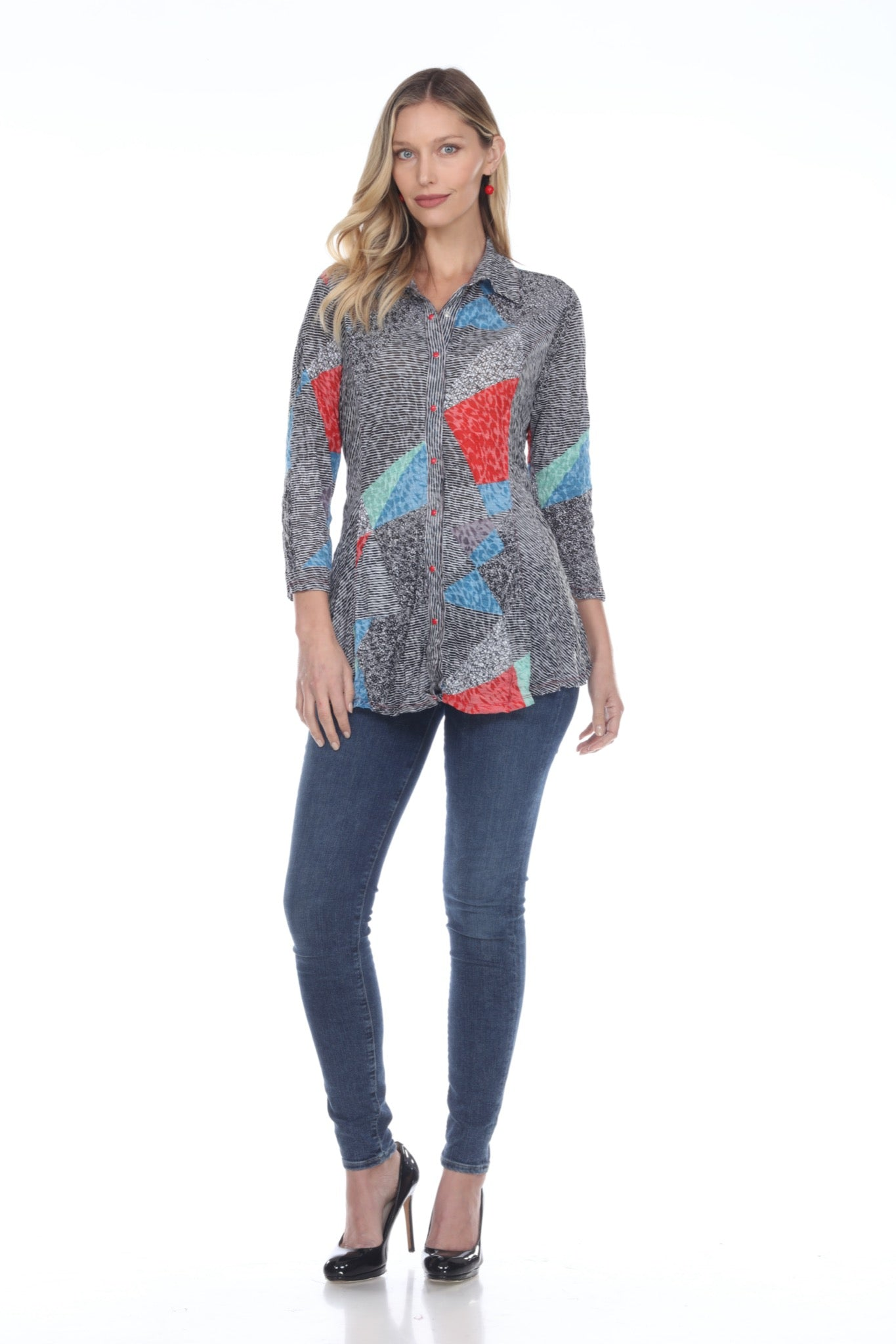 Selena Tunic - Multi Flag - CARINE