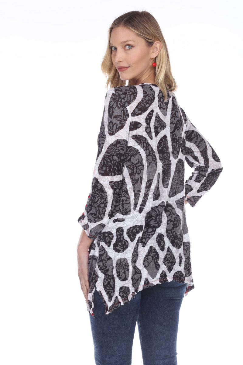 Two Pocket Tunic - Black Canyon - CARINE