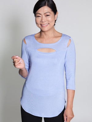 Grace Top - Blue - CARINE