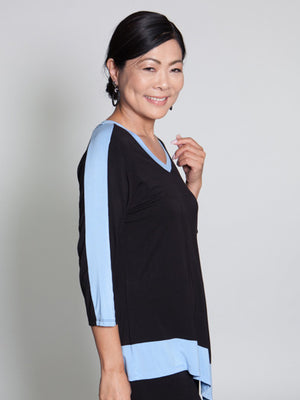 Arielle Top - Black - CARINE