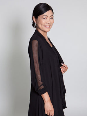 Payton Top  - Black - CARINE