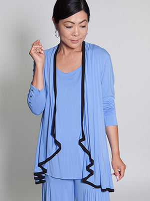 Savannah Top - Blue - CARINE