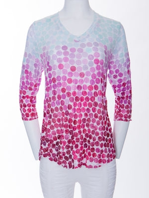 V-Neck Top - Gumball - CARINE