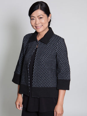 Jacket - Black - CARINE