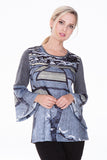 Athena Top - Gray Fields - CARINE