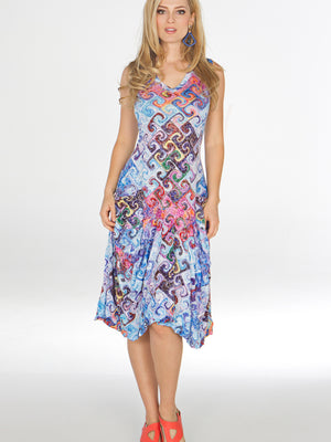 Valerie Dress - Multi Glass - CARINE