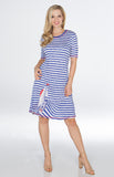 Vicky Dress - Nautical Day - CARINE