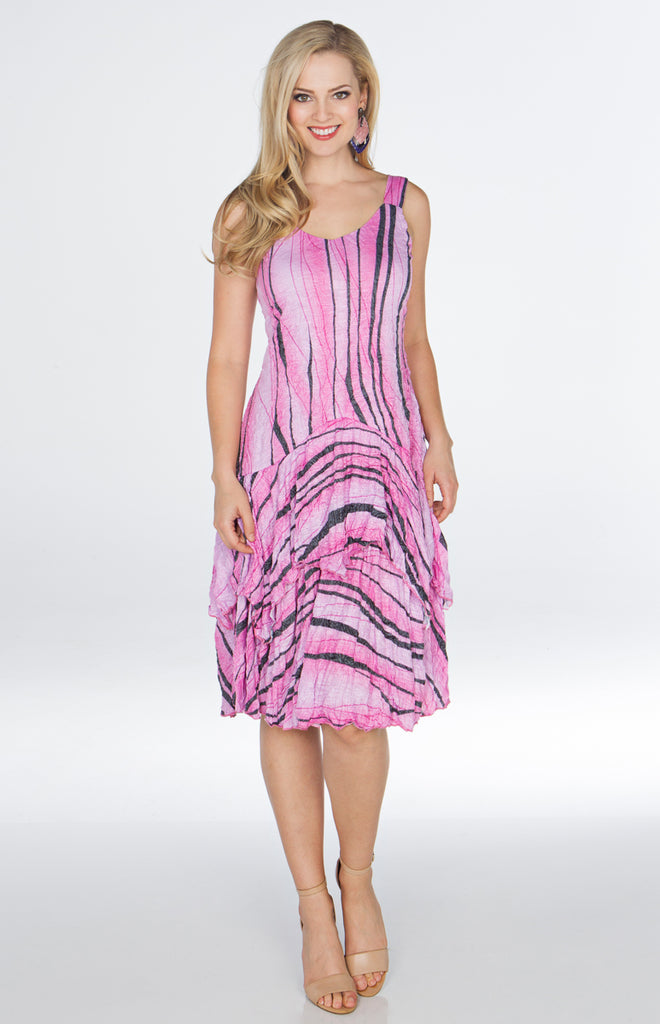 Paige Dress - Rose Impact - CARINE