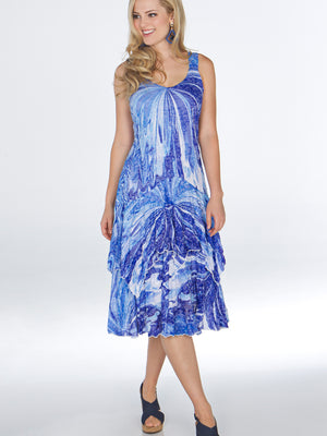 Paige Dress - Sea Wall - CARINE