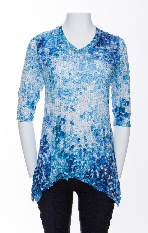 Rosalyn Top - Blue Stones - CARINE