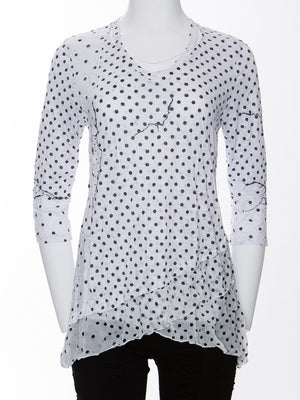 Bella Top - Blackpoint - CARINE