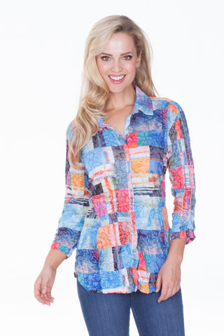 Sabrina Shirt - Multi Patch - CARINE