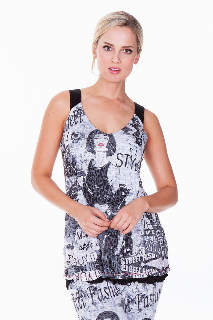 Tilly Tank - Reversible - High Fashion - CARINE