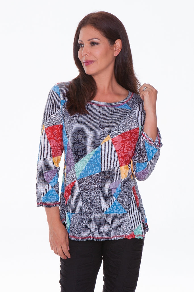Jeri Top - Multi Flag - CARINE