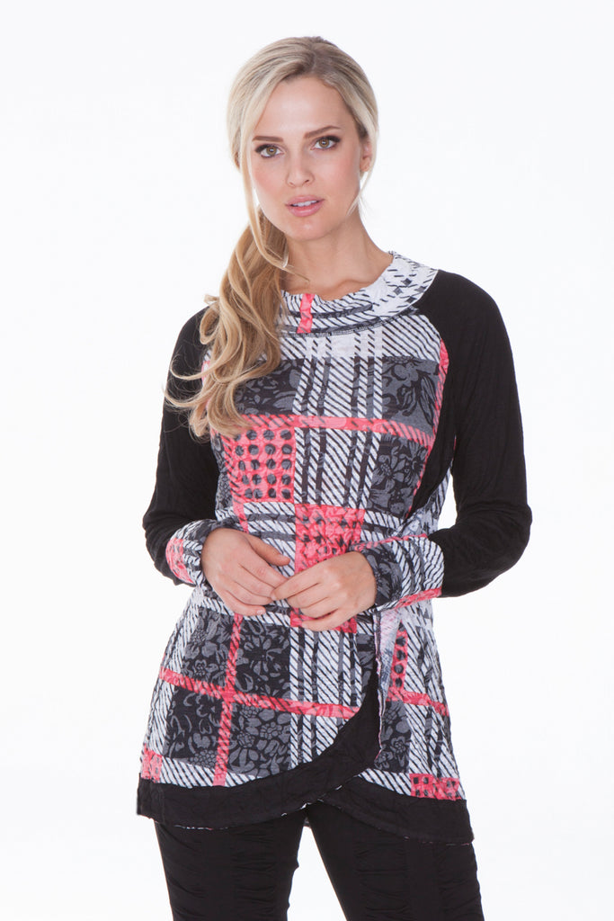 Patricia Top - Red Plaid - CARINE