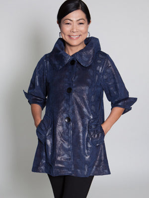 Jacket - Blue - CARINE