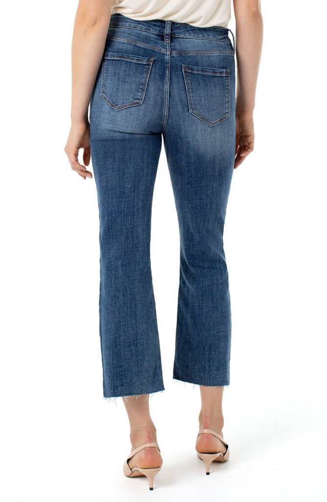 Stovepipe High Rise Jeans - Denim