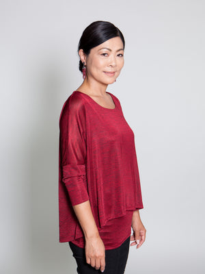 Top - Red - CARINE