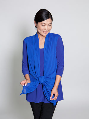 Top - Blue - CARINE