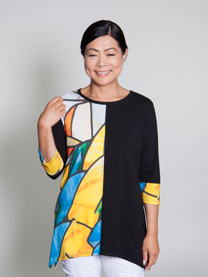 Wendy Top - Multi Yellow - CARINE