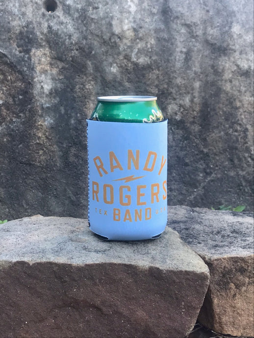 Baby Blue Electric Koozie