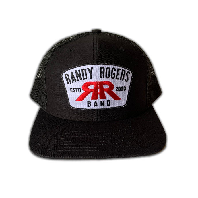 RRB Black Patch Hat