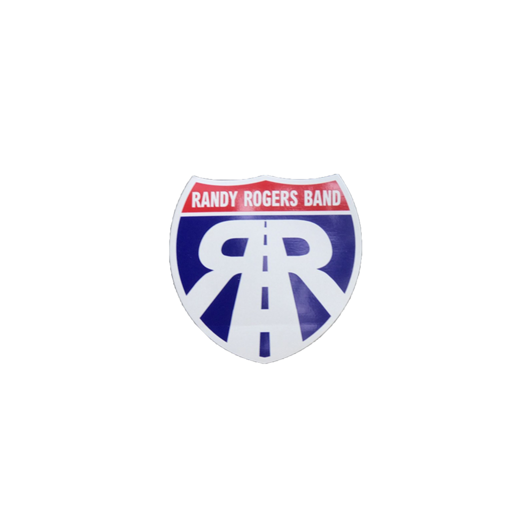 RRB Road Sign Sticker