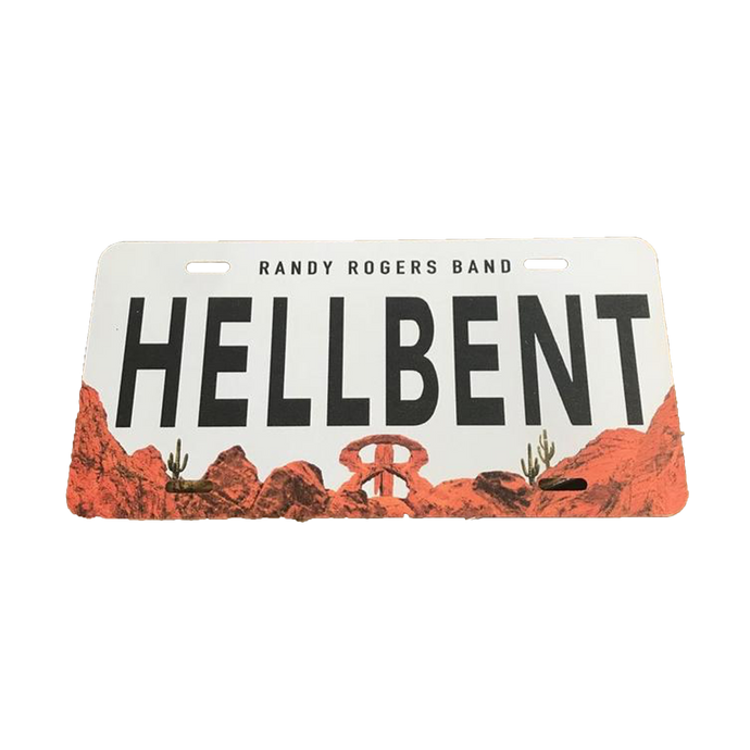RRB Hellbent License Plate