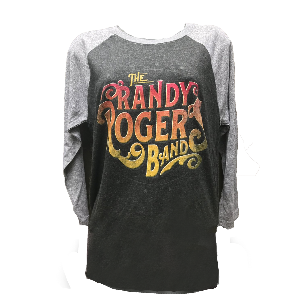 Grey on Grey Raglan- Closeout Sale