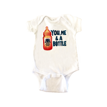 You, Me, & A Bottle Baby Onesie